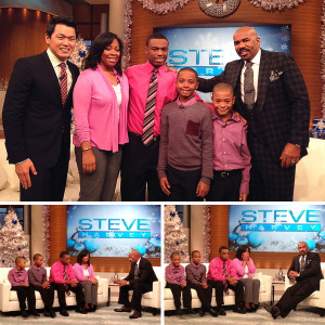 Steve Harvey&nbsp;<br/><br/><span style='font-size: .7em; color: #868686; font-weight: bold;'>December 2013 | Chicago</span>