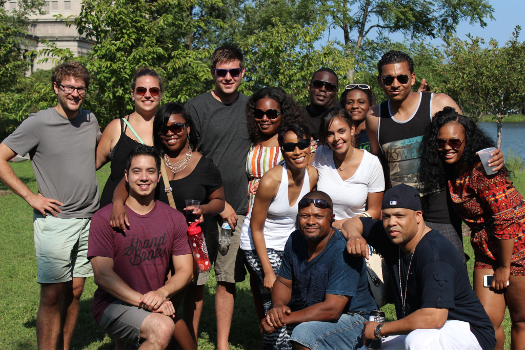 Whether its cookouts, holiday parties or happy hours, team bonding extends beyond the office here at Pangea.