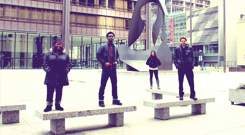 Meet the 2014 group!&nbsp;<br/><br/><span style='font-size: .7em; color: #868686; font-weight: bold;'>February 2014 | Daley Plaza</span>