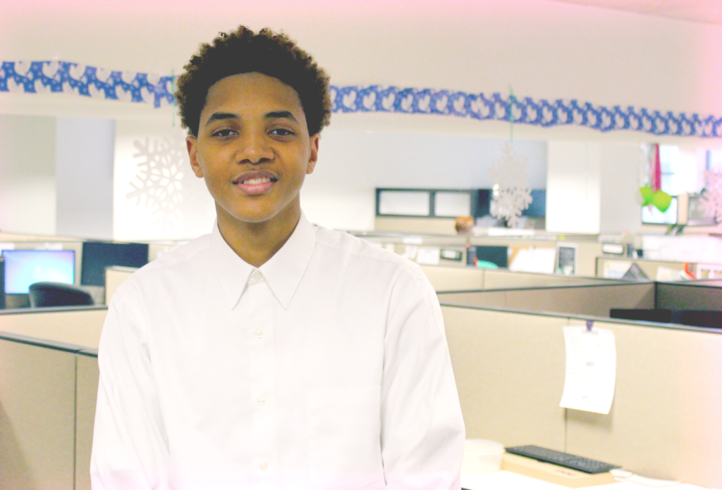Meet Terrell, a 2014 Mentee&nbsp;<br/><br/><span style='font-size: .7em; color: #868686; font-weight: bold;'>February 2015 | Contact Center</span>