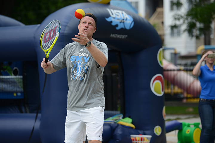 Tennis techniques&nbsp;<br/><br/><span style='font-size: .7em; color: #868686; font-weight: bold;'>August 2016 | Summer Fitness Fest</span>