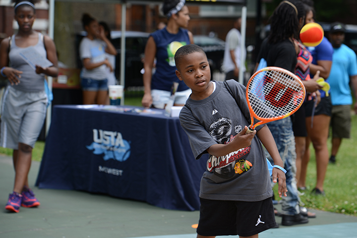 Tennis can be fun, too!&nbsp;<br/><br/><span style='font-size: .7em; color: #868686; font-weight: bold;'>August 2016 | Summer Fitness Fest</span>